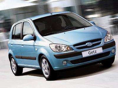 2009 Hyundai Getz Prime Front Side View Image.